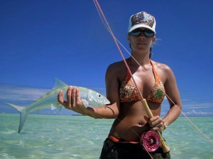 Bonefish Bikini Pin Up